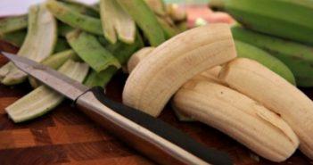 банановата кора, банан, бананова кора