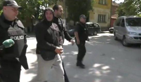 Ценко Чоков, Галиче, арест, Мартин Чоков