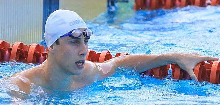 Кристиан Голомеев, плуване