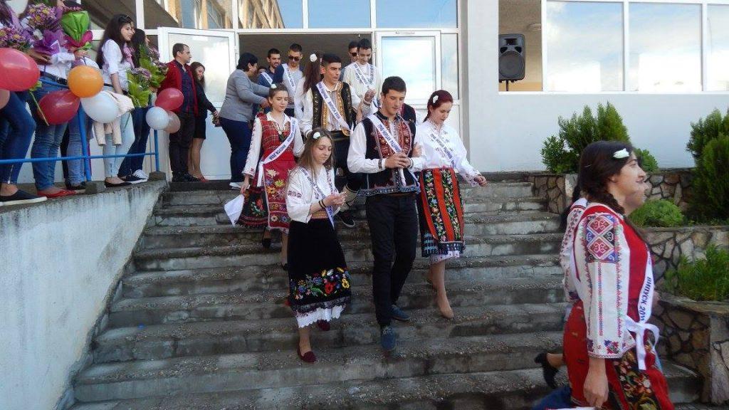 народни носии, Видин, абитуриенти