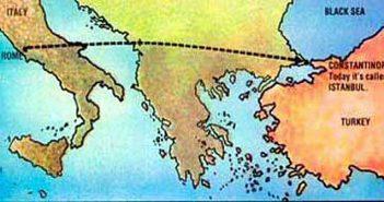 Рим, Константинопол, отблясъци