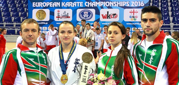 Виолета Литовска, шампион, карате