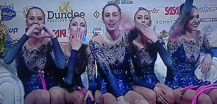 златните момичета са световни шампиони на големия форум в София
