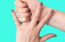 пръсти, кутрето, палец, показалец, безименен, среден пръст, здраве