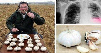 Този човек яде чесън на гладно всеки ден! Ето какво се случи със здравето му