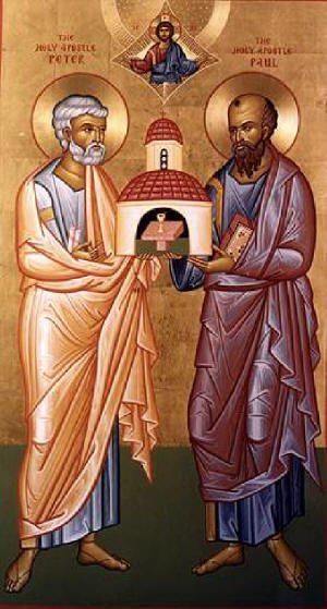 Петър и Павел, отблясъци