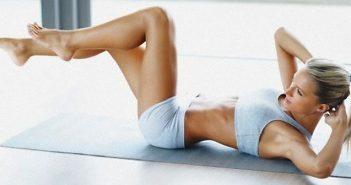 плосък корем, упражнения