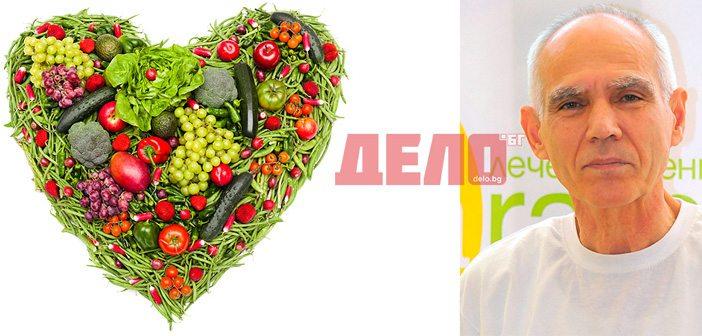 лечителят Георги Славов и съветите му за правилно хранене