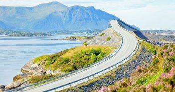 Най-добрият автомобилен път е в Норвегия
