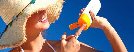 крем против слънчево изгаряне