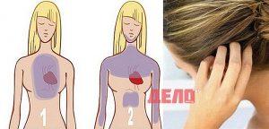 косата предсказва инфаркт