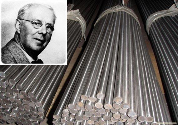 Хари Бреърли открива неръждаемата стомана