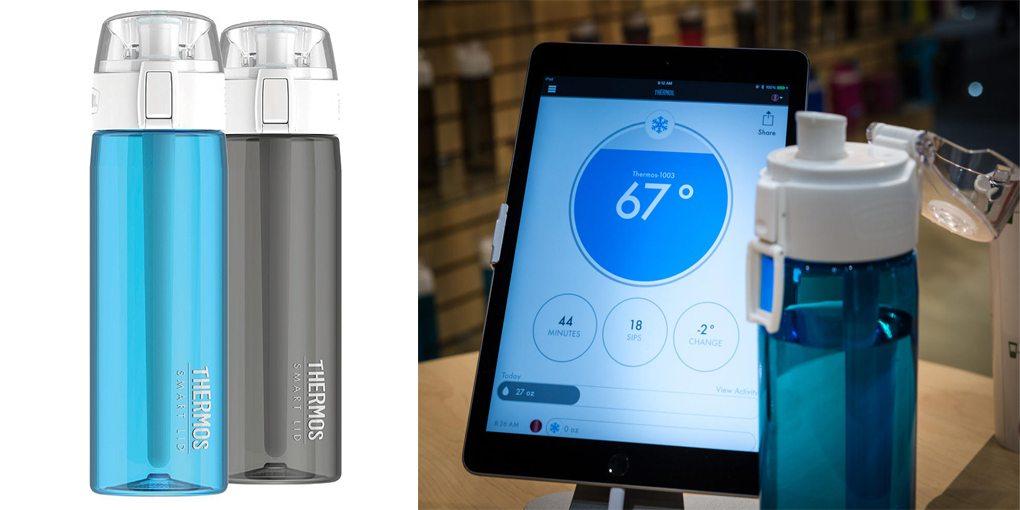 умен термос поддържа 12 часа температурата на течността