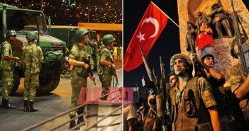 Провален опит за преврат в Турция