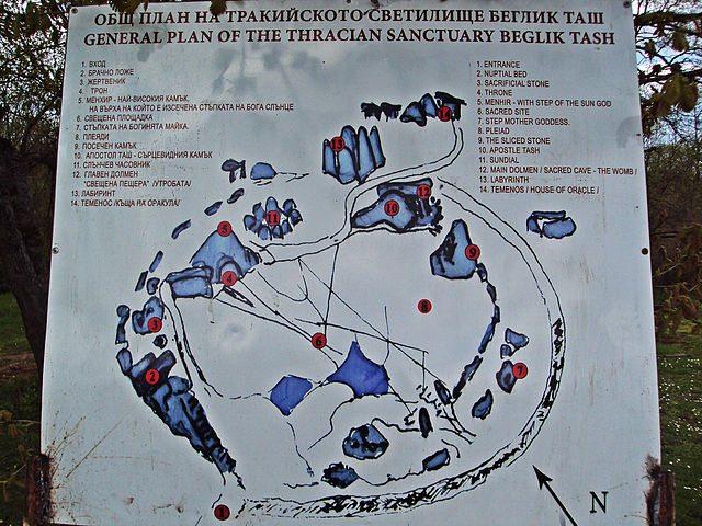 Тракийско светилище Беглик Таш - обожествената реалност