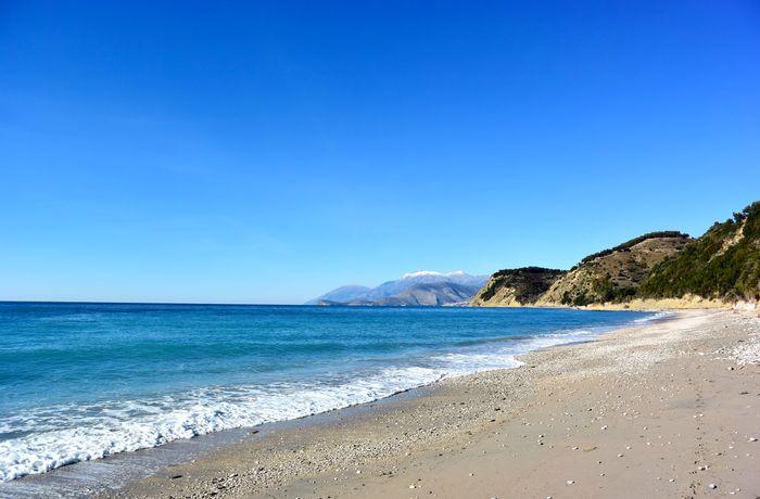 Lukova beach в Южна Албания