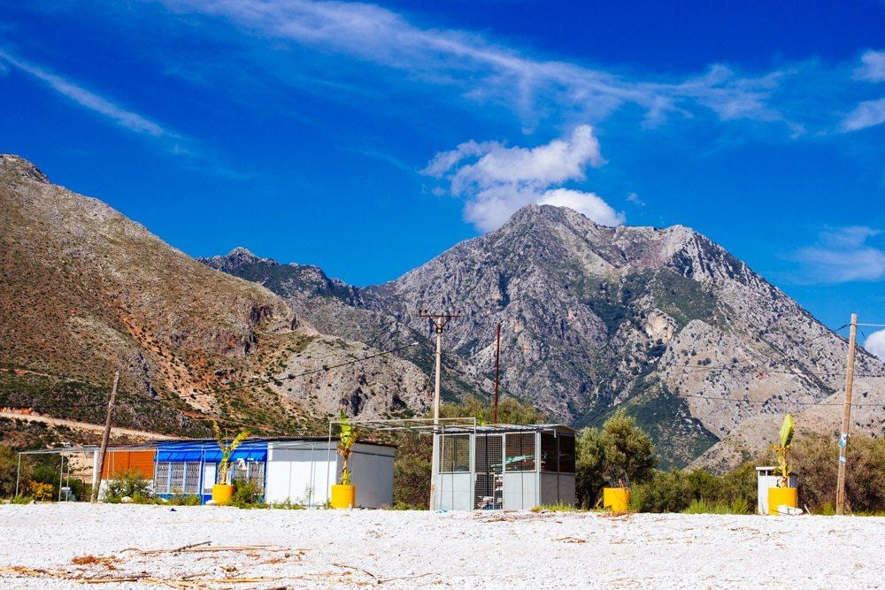 borshi beach himara в Южна Албания