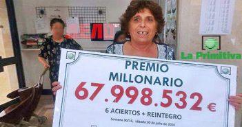 българка спечели близо 68 милиона евро от лотария в Испания