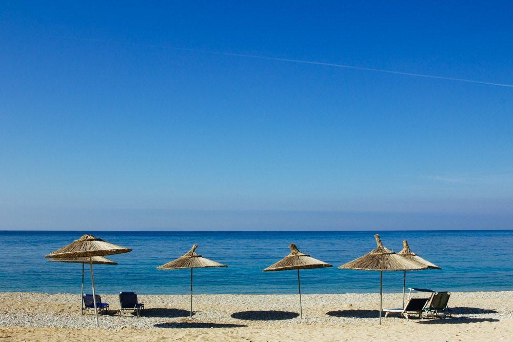 himara beach ksamil в Южна Албания