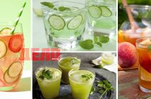 домашно приготвени летни напитки