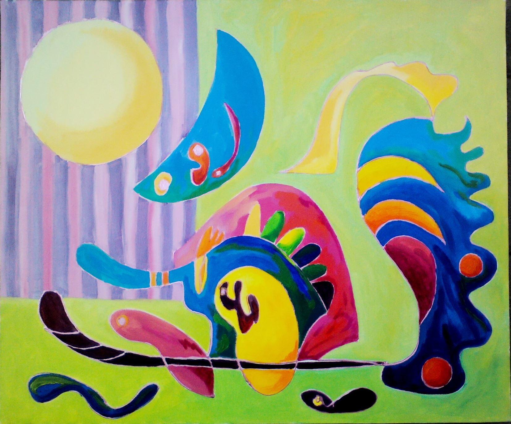 Нина Атанасова и нейните трансформиращи картини