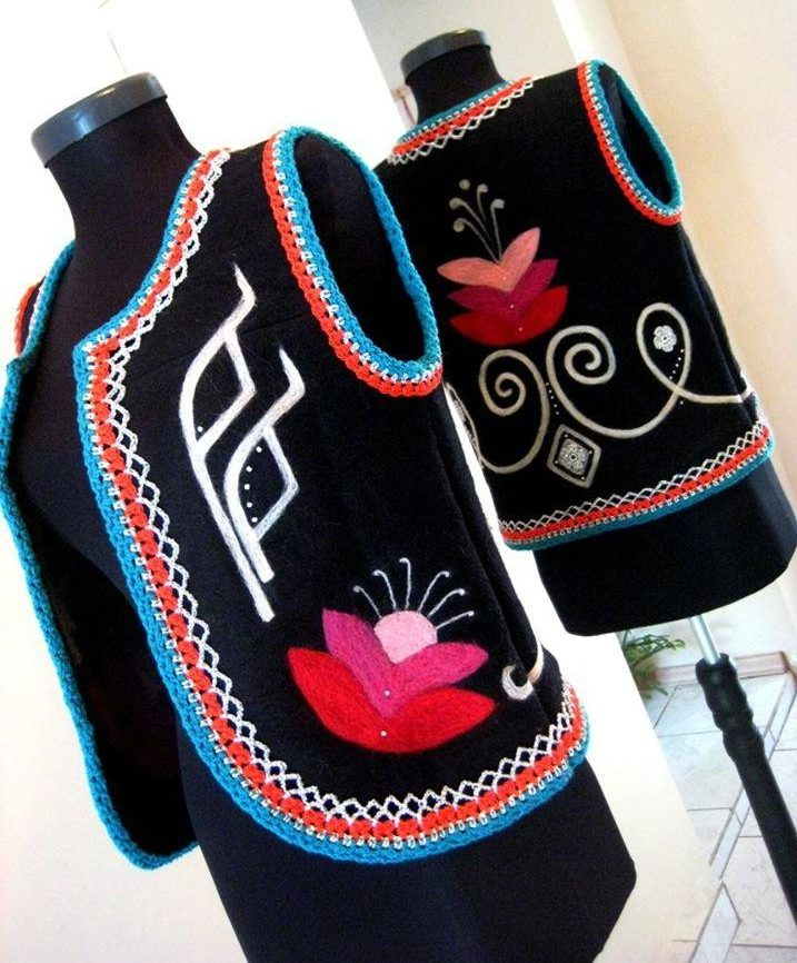 ръчно плетиво на Боряна Балканска