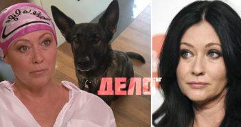 Шанън Дохърти твърди, че кучето й е открило рак на гърдата преди лекарите