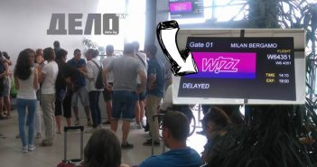 Wizz Air - Milno Bergamo - 08.08.2016