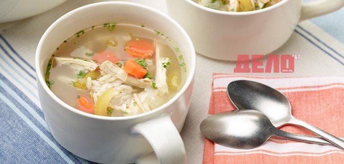 пилешката супа е полезна за здравето