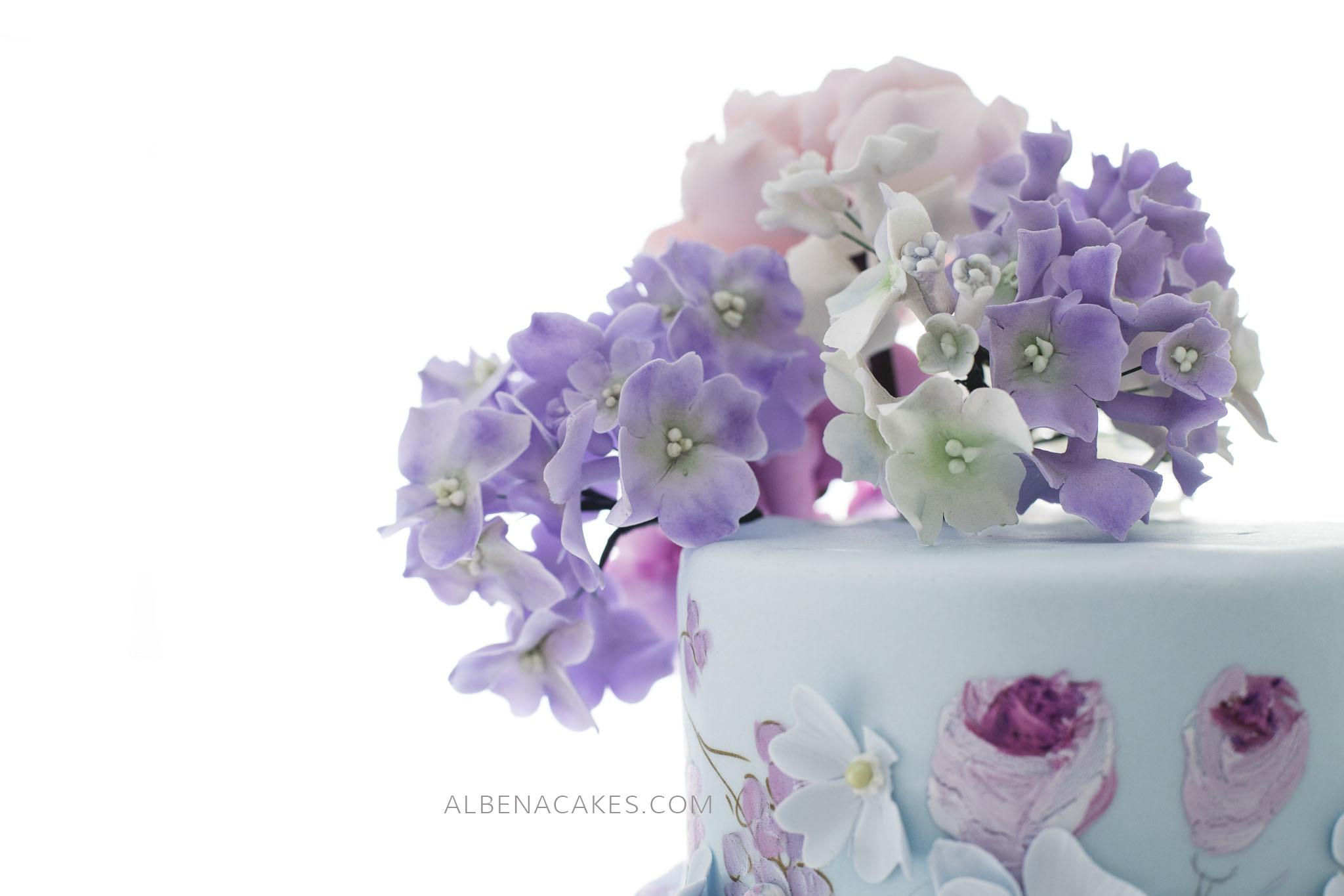 уникалните рисувани торти на Албена Петрова