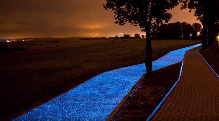 светещи велоалеи