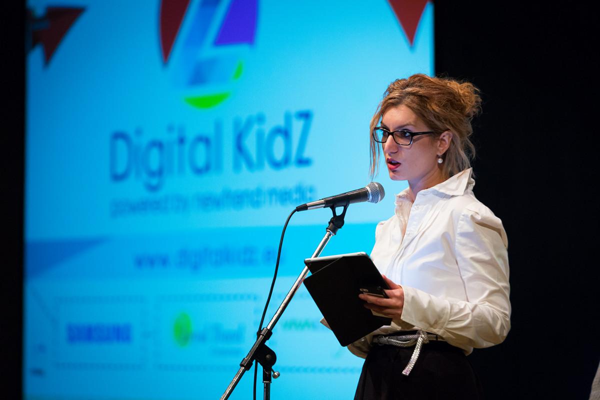 """Ивелина Атанасова - председател на фондация """"Дигиталните деца"""""""