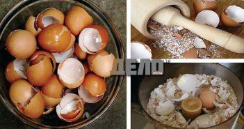 не изхвърляйте черупките от яйца, вижте за какви болести помагат