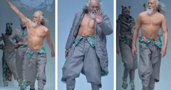 Уанг Дъшун - най-якия дядо в Китай е на 80 и е модел