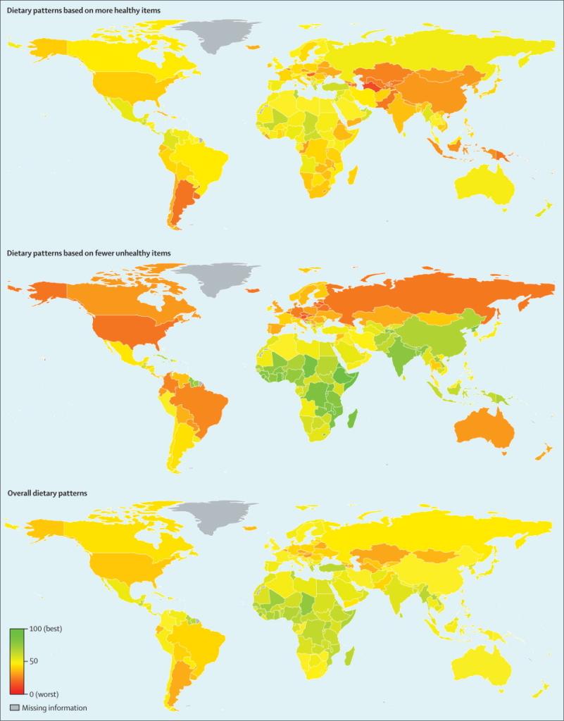 коя държава има най-доброто диетично хранене