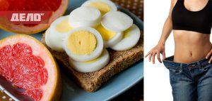 диета с яйца и грейпфрути