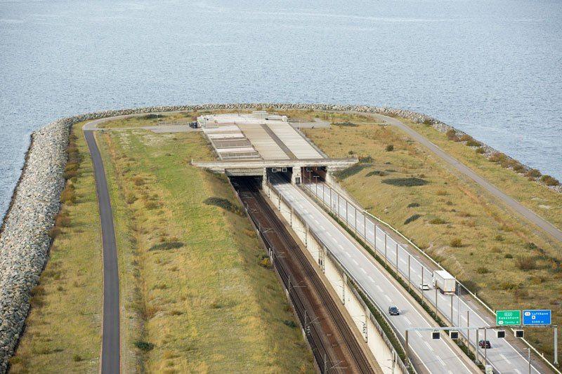 Йоресунд - мостът-тунел