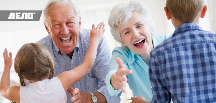 баби и дядовци живеят по-дълго, ако отглеждат внуците си