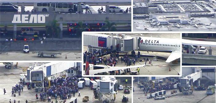 стрелба на летището във Флорида