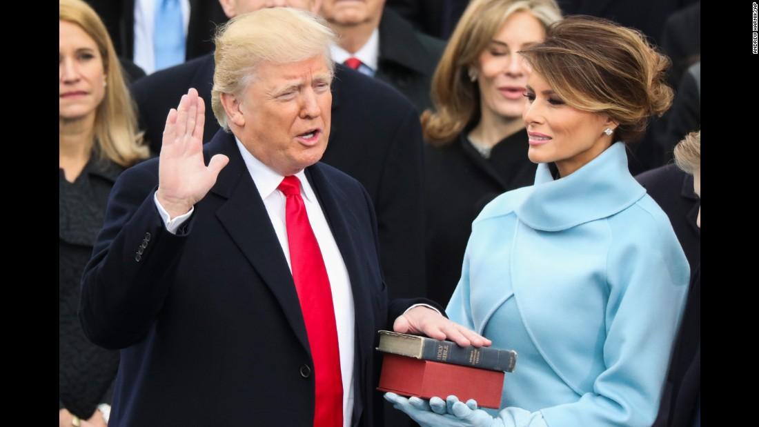 Доналд Тръмп и Мелания Тръмп