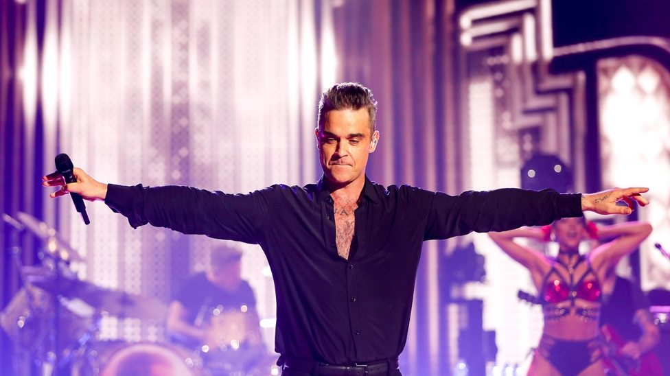 Robbie Williams BRIT
