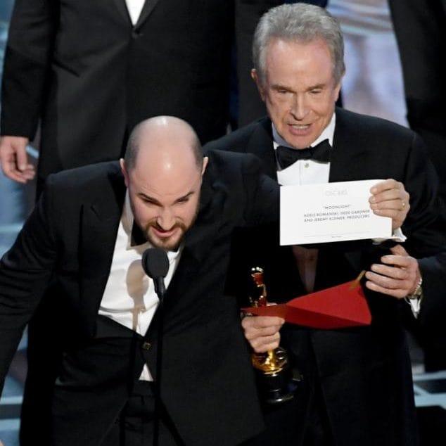 oscars - гафът на Оскар-ите