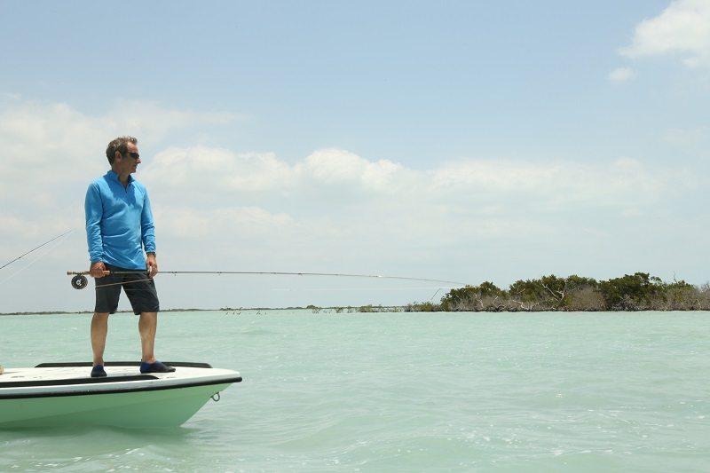 Робсън Грийн тръгва на риболов