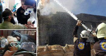 химическа атака в Сирия над цивилни