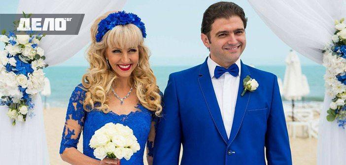 Дони Василева и Стойно Чачов си казаха заветното Да на брега на морето в Слънчев бряг.