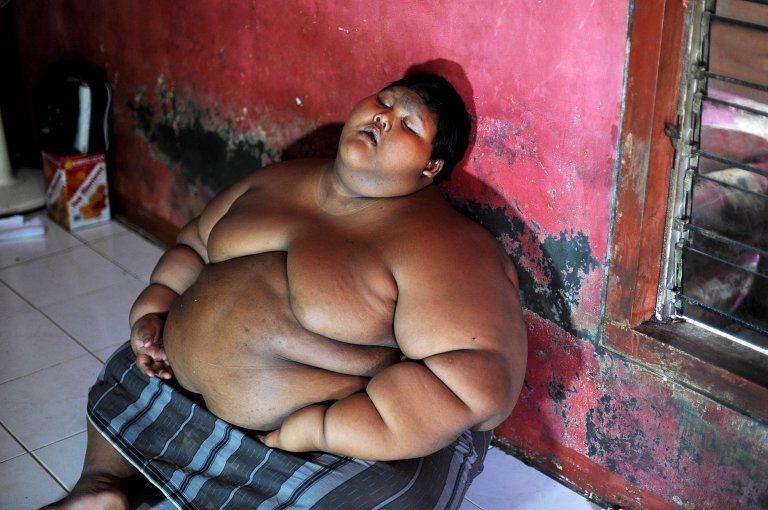 най-дебелото момче в света