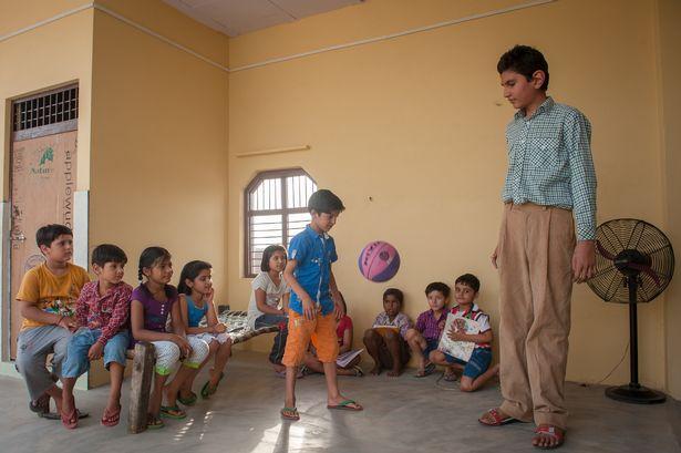 Най-високото 8-годишно момче в света
