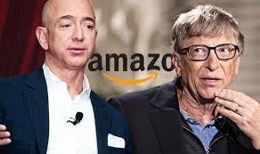Джеф Безос и Бил Гейтс