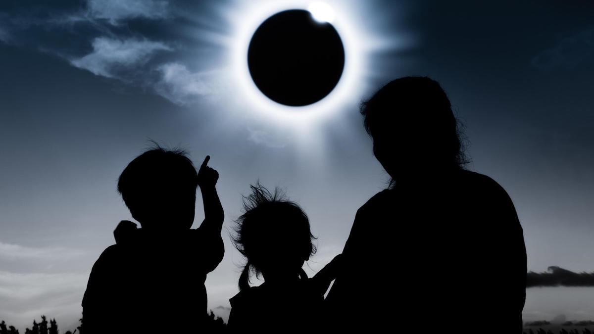 слънчево затъмнение 2017