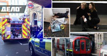взрив в лондонското метро